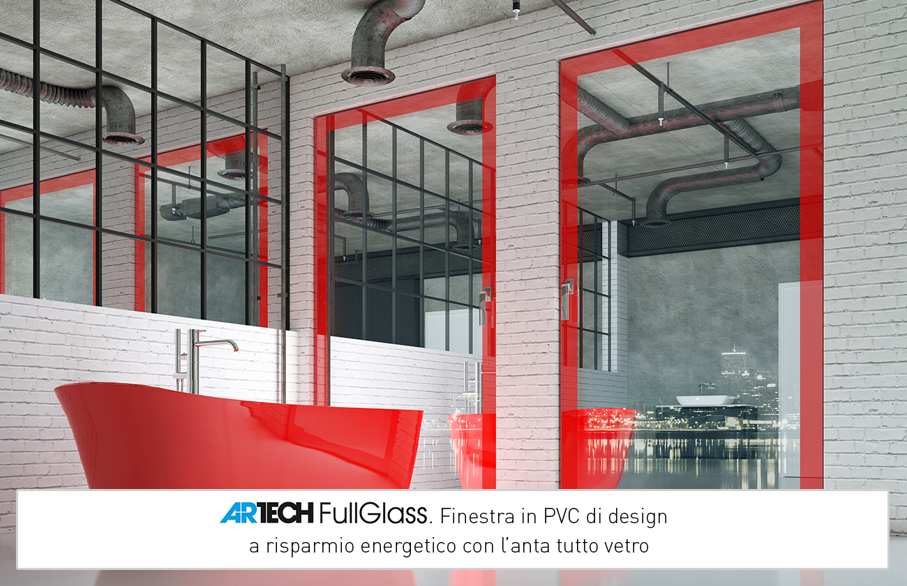Artech Fullglass Designerskie okno